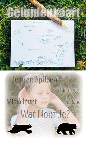 Sharing Nature Kaartenset - Geluidenkaart