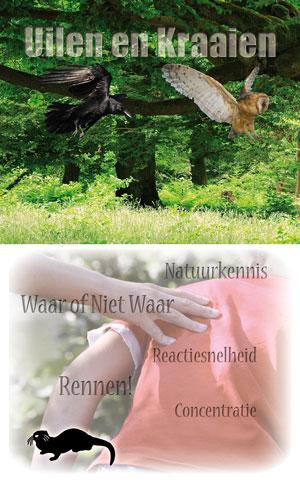 Sharing Nature Kaartenset - Uilen en Kraaien